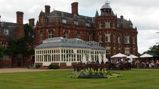 The Elvetham: beautiful hotel,