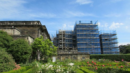 Seaton Delaval Hall: Scaffolding
