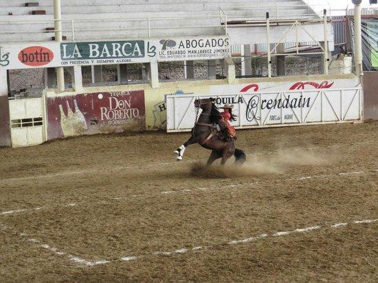 Lienzo charro Charros de Jalisco: Not just the boys are great at the Charro