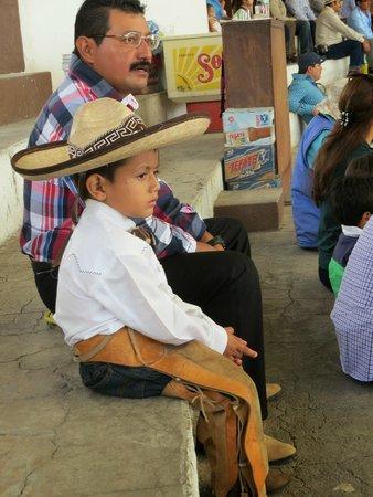 Lienzo charro Charros de Jalisco: Young Charro to be - proud of his heritage