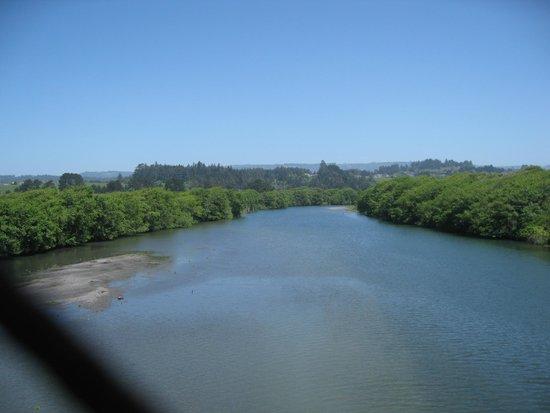 Hammond Trail - Mad River from bridge