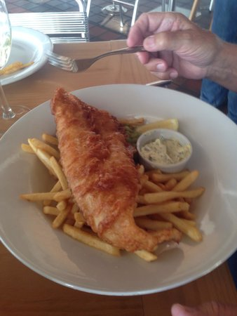 Shell Bay Seafood Restaurant: Fish and chips