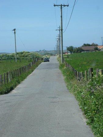 Hammond Trail - walk/bike along rural road