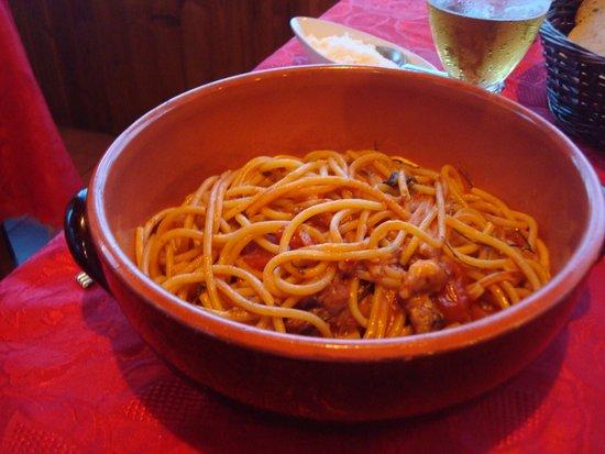 Da Gisella : Сковородища с пастой (брать лучше на двоих)