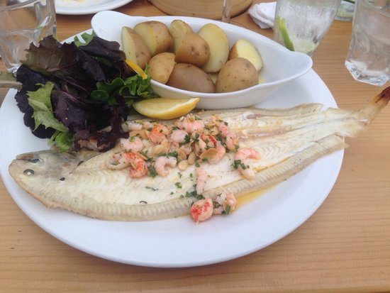 Shell Bay Seafood Restaurant: Poole harbour Dover sole