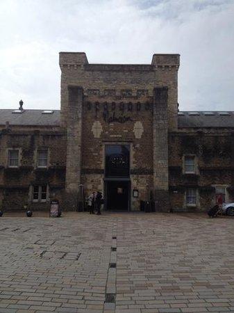 Malmaison Oxford Castle: main entrance