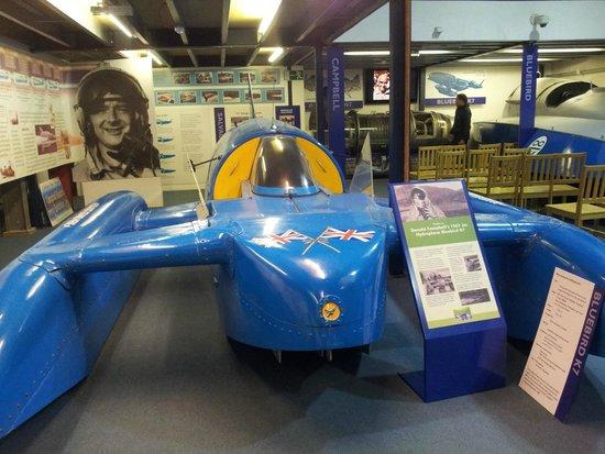Lakeland Motor Museum: Donald Campbell museum