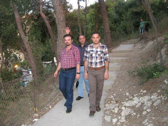 Nuestra Señora de Harissa: Wissam S. AlRashied, Bissam M., and Mustafaa S.  @ Our Lady of Haressa