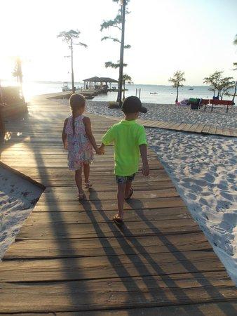 White Lake Holiday Resort: Pier