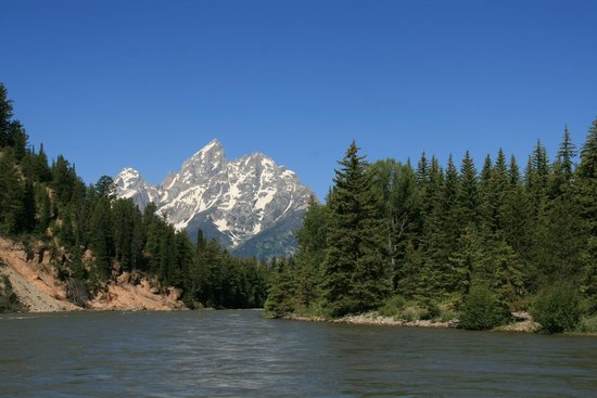 Solitude Float Trips: View from the raft