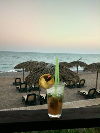 Sensimar Belek Resort & Spa: view/ beach bar