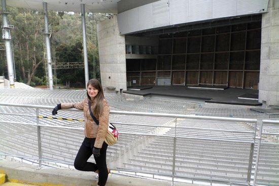 Quinta Vergara: Anfiteatro onde ocorre shows