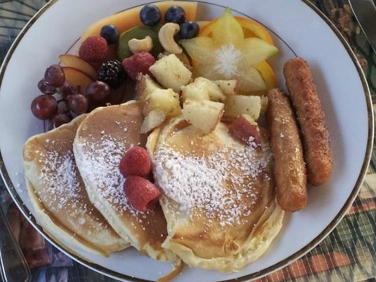 Le Septentrion B&B: There is a wide variety of possible breakfasts to choose from