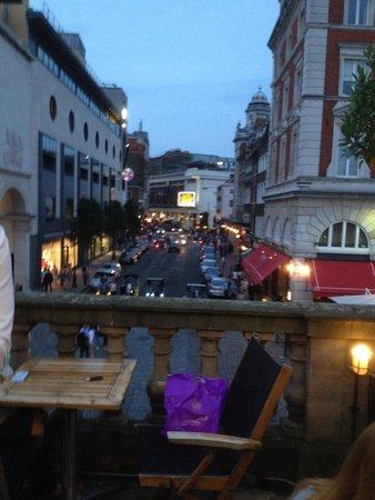 Brasserie Blanc The Opera Terrace : Vista dalla terrazza