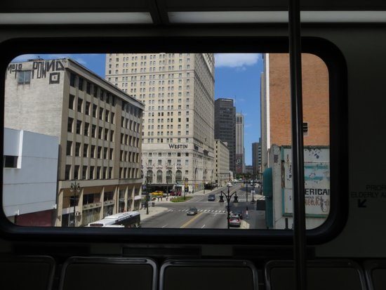 The Westin Book Cadillac Detroit: View from the People Mover