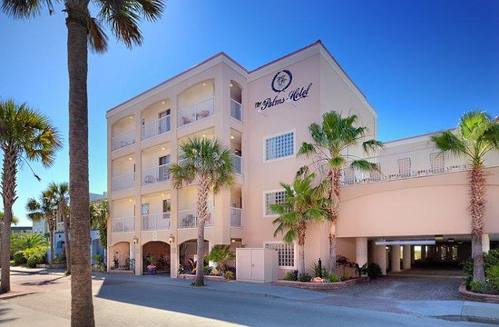 The Palms Oceanfront Hotel : The Palms Hotel located on the beach in Charleston