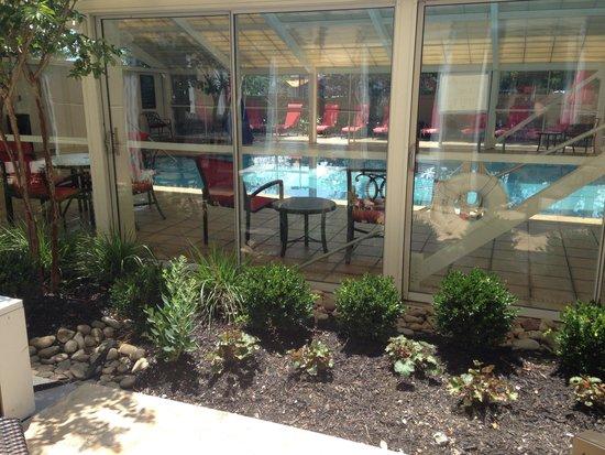 La Quinta Inn & Suites Pigeon Forge : Pool outside the room