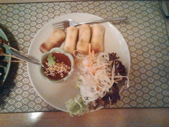 Chada Thai: rouleau de printemps