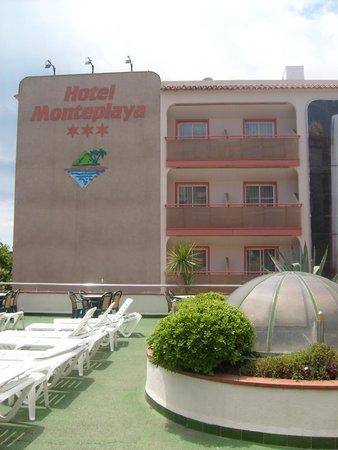 Sumus Hotel Monteplaya : Вид на отель