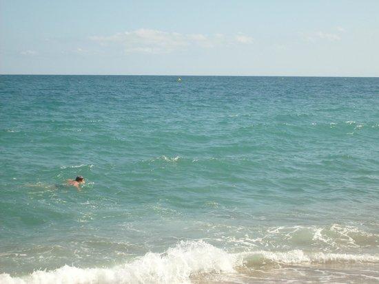Sumus Hotel Monteplaya : Море.