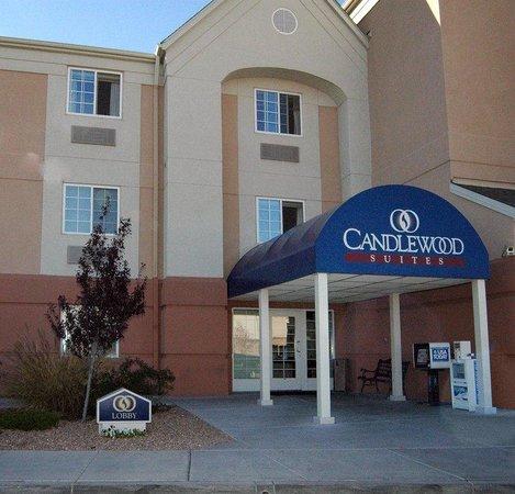 Candlewood Suites Albuquerque: Candlewood Suites Hotel Albuquerque Hotel Entrance