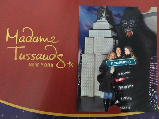 Madame Tussauds New York : Madame Tussaud NYC