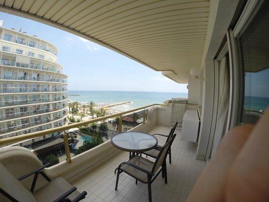 Mediterraneo Sitges Hotel & Apartments: Balkong
