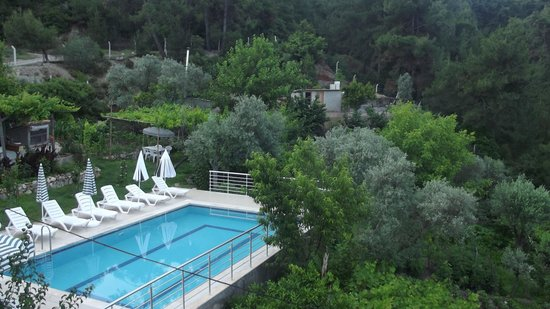Ephesus Boutique Hotel: View of pool