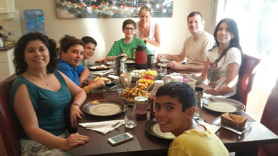 At The Beach Bed and Breakfast : Our awsome guests from Brazil