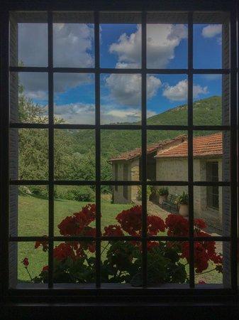 B&B Cà Maranghi : From the bathroom's window
