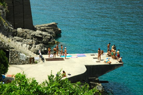 Casale Villarena: Great swimming spot