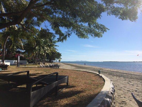 Sofitel Fiji Resort & Spa: the beach