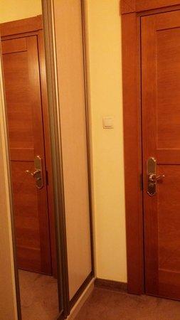 Willa Amfora: Room entrance