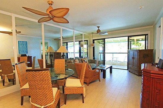 Poipu Shores Resort: Living Room