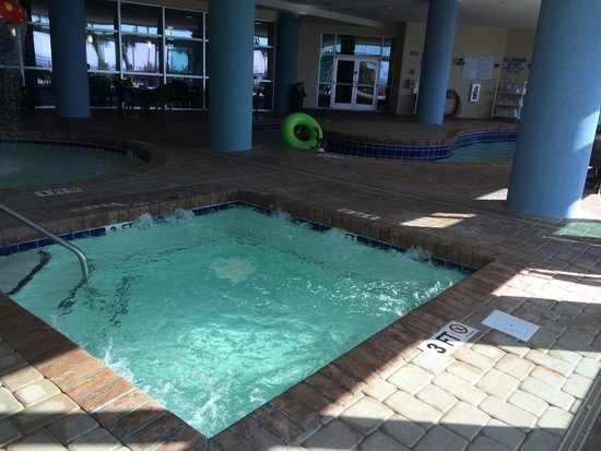 Indoor Hot Tub Picture Of Bay View On The Boardwalk Myrtle Beach Tripadvisor