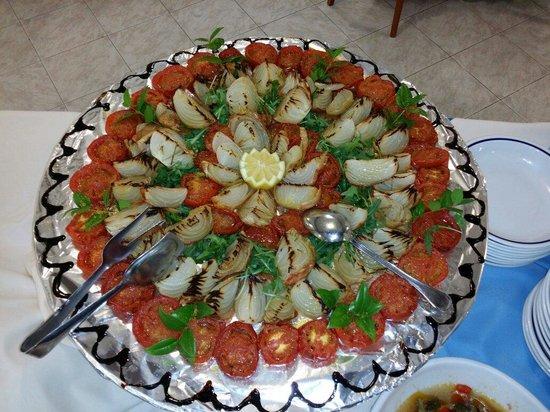 Park Hotel Resort: Pomodori e cipolle al forno