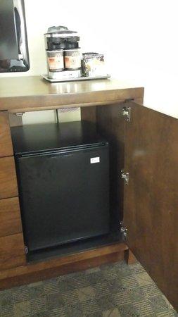 DoubleTree by Hilton Hotel Norfolk Airport: fridge
