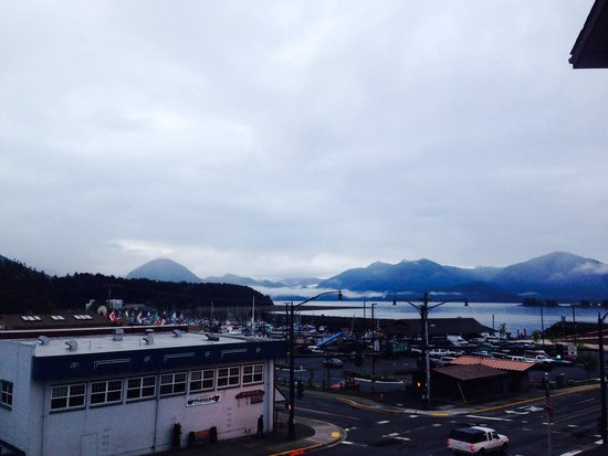 Westmark Sitka Hotel: View from the room
