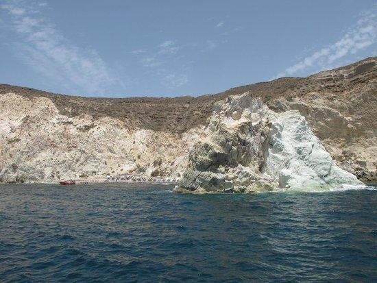 Santorini Yachting: White Beach