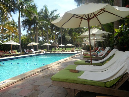 South Seas Hotel: piscina