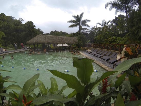Tabacon Grand Spa Thermal Resort: Pool by the hot springs
