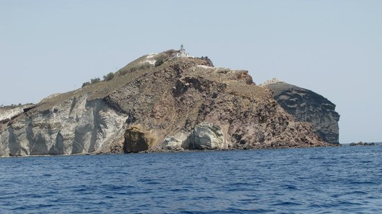 Santorini Yachting: Lighthouse & be sure to ask about the other house to right!