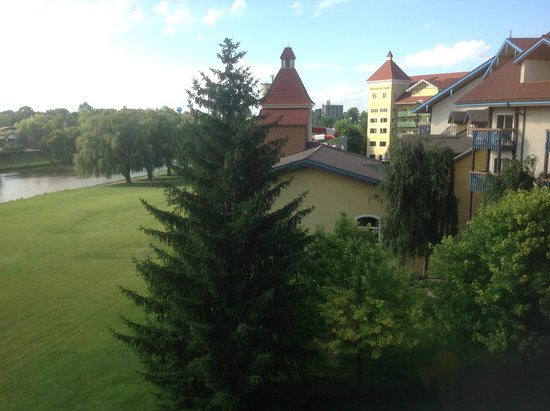 Bavarian Inn Lodge: View from our riverview room