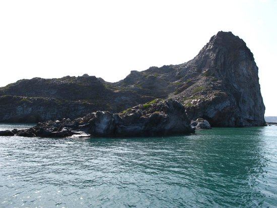 Captain George Santorini Yachting: Never ending rock formations & blue blue waters to mesmerize you!