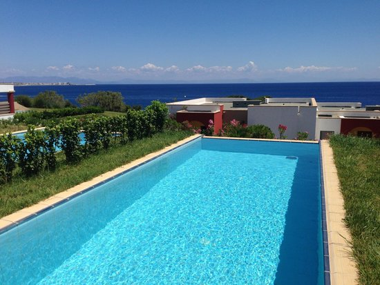 The Kresten Royal Villas & Spa: Junior suit private pool with sea view