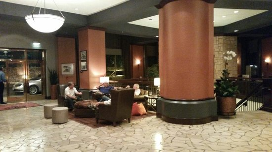 The Emily Morgan Hotel: Lobby, 10 July 2014.