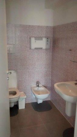 Meet Gardalake Hostel : Bathroom