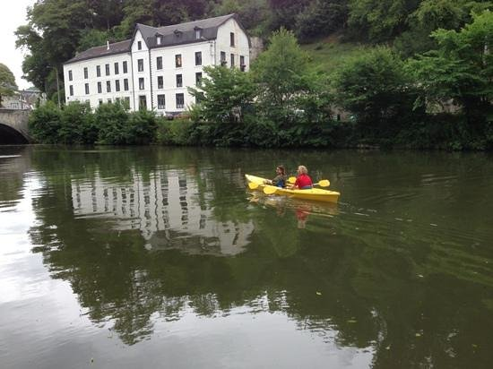 Dinant Evasion - Lesse Kayaks : approaching the end