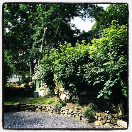 Seventh Heaven Glamping: Outside the barn