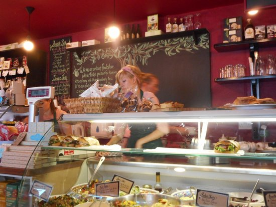 The Stuffed Olive Food & Wine Store : The Stuffed Olive Bantry - too small for a cafe